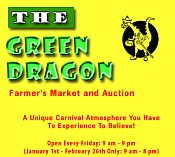 Famous GREEN DRAGON Farmers Market in Lancaster County,PA